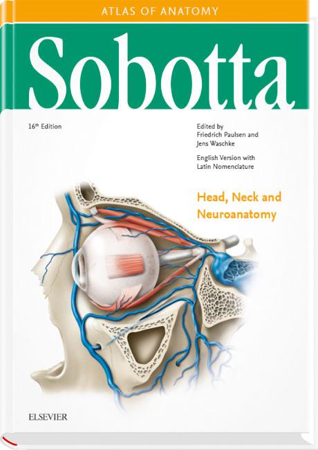 Sobotta Atlas of Anatomy, Vol. 3, 16th ed., English/Latin ...