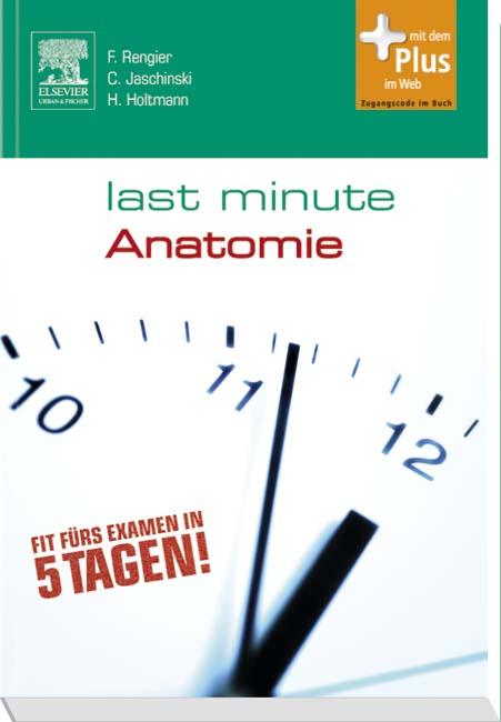 Last Minute Anatomie - 9783437430015 | Elsevier GmbH
